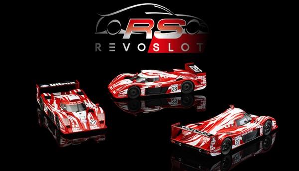 Slotcar 1:32 analog Triple-Pack REVOSLOT GT-One Edition Box m.3 Autos