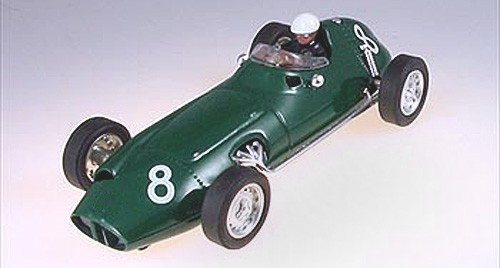 Slotcar 1:32 analog CARTRIX BRM No. 8 Grand Prix Legends Edition