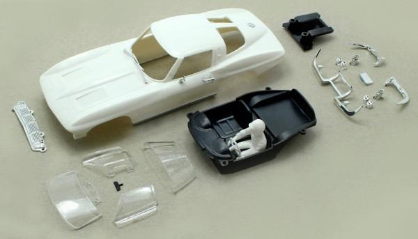 Karosseriebausatz C2-Coupe`63 weiß