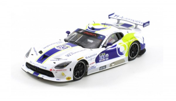 Slotcar 1:24 Bausatz analog Racing-RC2 Competition SRT GTS-R Daytona 2015 No. 93