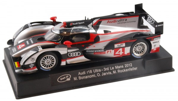 Slotcar 1:32 digital Audi R18 Ultra Le Mans 2011 No. 4 f.Scalextric Digital SSD