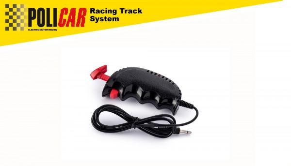 Geschwindigkeitsregler analog POLICAR Handregler 50Ω schwarz f.POLICAR Autorennbahn 1:32 Racing Track System