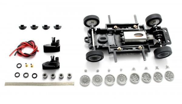 Fahrwerksbausatz Sebring Series Universal S2 Basic Set f.Radstand 69-102mm m.Motor u.Zubehör