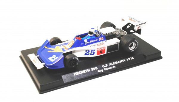 Slotcar 1:32 analog FLY 308 Grand Prix Germany 1976 No. 25