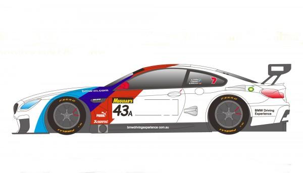Standmodellbausatz BMW M6 GT3 Team Italia oder Team Schnitzer Monza 2016/Bathurst 2018 No. 15 & 34a