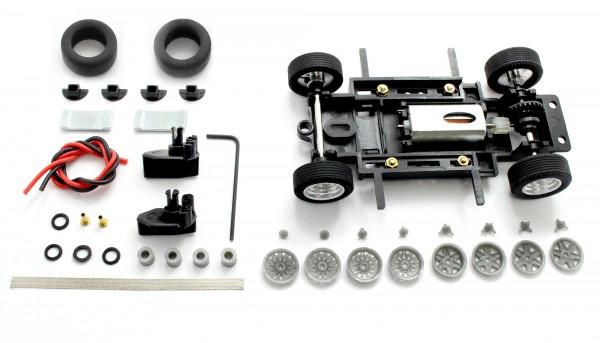 Fahrwerksbausatz Sebring Series Universal S2 Magnet Tuned f.Radstand 69-102mm m.Motor u.Zubehör
