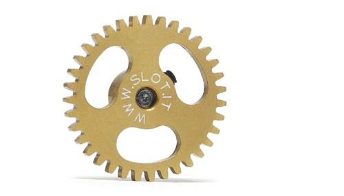 Spurzahnrad 35Z Ø18mm f.Ø2,38mm Leichtbau Aluminum M2