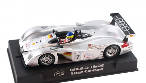 Slotcar 1:32 Bausatz analog Audi R8 LMP Le Mans 2000 No. 7