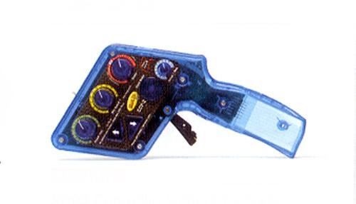 Rennhandreglergehäuse analog/digital Slot.it SCP-2 Electronic Controller komplett m.Steuerungseinheit ohne Anschlusskassette f.Slotcars 1:32 & 1:24