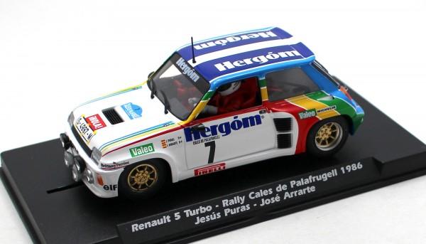 Renault 5 Maxi Turbo Rallye Palafrugell 1986 #7 Limited Edition