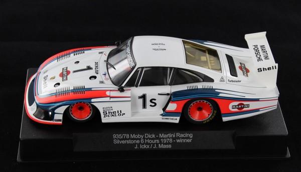 Slotcar 1:32 analog SIDEWAYS 935/78 Turbo Silverstone 1978 No. 1