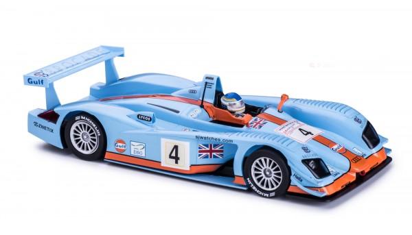 Slotcar 1:32 analog Slot.it R8 LMP Le Mans 2003 No. 4