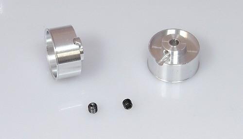 Felgen Racing-B Ø16,5x8-10mm f.Ø3mm Flachhump Aluminium m.M3