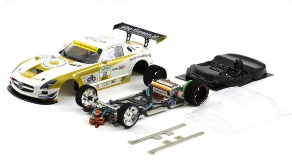 Slotcar 1:24 Bausatz analog Racing-RC2 Competition SLS GT3 ADAC Master 2011 No. 32