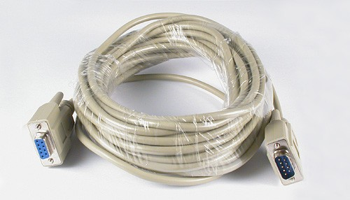Kabelset PC-Anschluß 10m (9-Pin-ComPort)