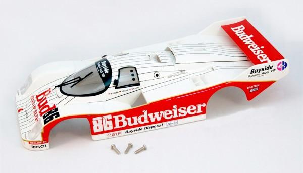 Karosserie BRM 962 IMSA 1987 No. 86 Kunststoff f.Slotcars 1:24