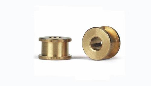 Achslager Ø4,9mm Bronze Innen- u.Außenbund f.Ø2,38mm