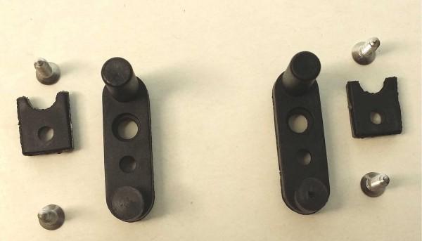Zubehör BRM 512 u.GT1 Montageteile f.Fahrwerksdämpung f.Slotcars 1:24