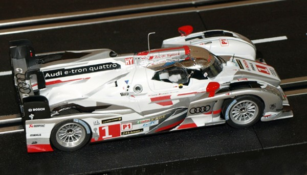 Slotcar 1:32 analog LE MANS MINIATURES R18 TDI Le Mans 2013 No. 1 High Detail Resin Collectors Edition