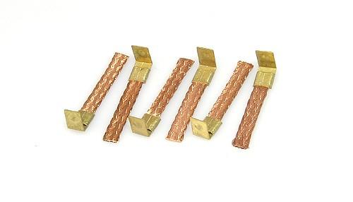 Stromabnehmer QRC-Short 4,0x0,8mm Kupfer soft m.Schnellmontageclips