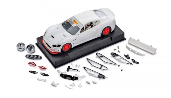Slotcar 1:32 Bausatz analog Slot.it MC GT4 White Kit