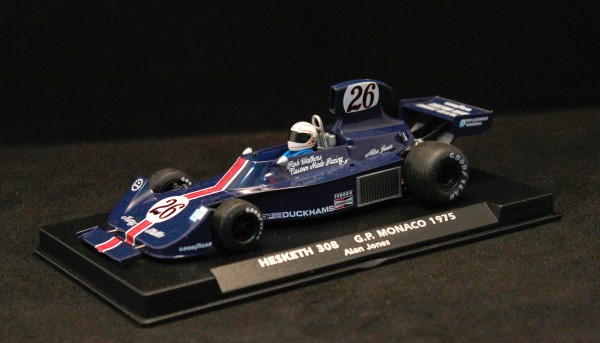 Slotcar 1:32 analog FLY 308 Grand Prix Monaco 1975 No. 26