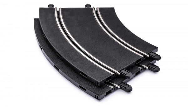 Kurve Radius 2/45° f.Autorennbahn 1:32 POLICAR Slotcar Racing Track System