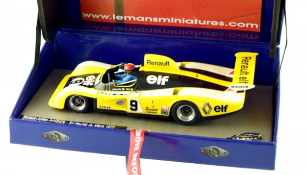 Slotcar 1:32 analog LE MANS MINIATURES A442 Le Mans 1977 No. 9 High Detail Collectors Edition