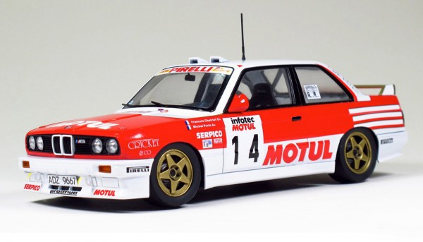 Standmodellbausatz 1:24 BEEMAX M3 E30 Rallye Tour de Corse 1989 No. 14