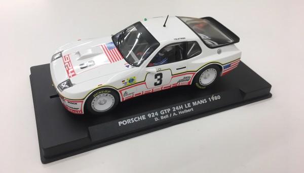Slotcar 1:32 analog FLY 924 Turbo Le Mans 1980 No. 3 Edition