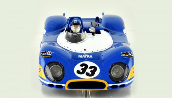 Slotcar 1:32 analog LE MANS MINIATURES MS650 Le Mans 1969 No. 33 High Detail Resin Collectors Edition