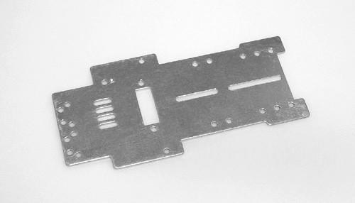 Fahrwerk PLAFIT P3 Super 24 Grundplatte 96,5x1,2mm Aluminium f.Slotcars 1:24
