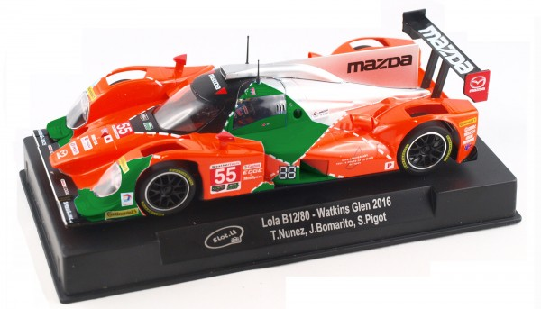 Slotcar 1:32 analog Slot.it B12/80 Watkins Glen 2016 No. 55
