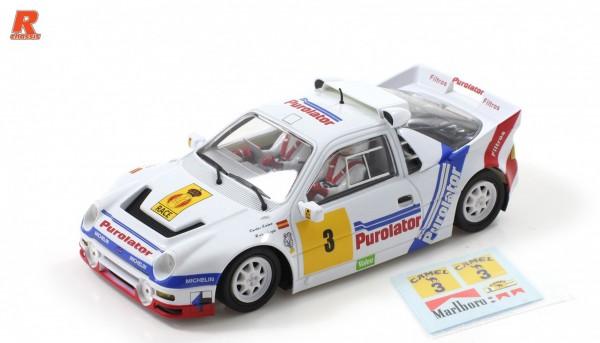 Slotcar 1:32 analog Racing-R RS200 Gr.B Espana 1987 No. 3