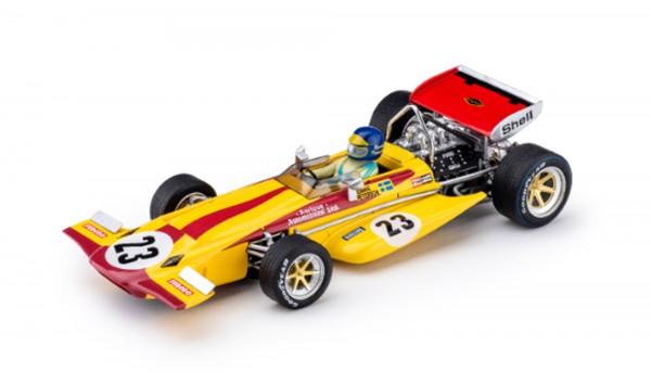 Slotcar 1:32 analog POLICAR 701 Monaco 1970 No. 23