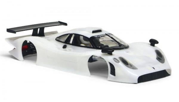 Karosseriebausatz Slot.it 911 GT1 EVO98 Kunststoff weiß f.Slotcars 1:32