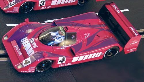 Slotcar 1:32 analog LE MANS MINIATURES XJR14 Nürburgring 1991 No. 4 High Detail Resin Collectors Edition