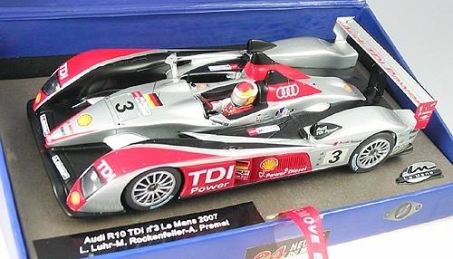 Slotcar 1:32 analog LE MANS MINIATURES R10 TDI Le Mans 2007 No. 3 High Detail Resin Collectors Edition