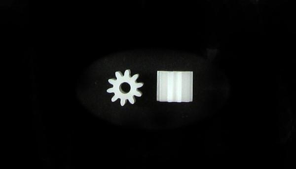 Pack Motorritzel 10Z M50 Plastik f.Ø2,0mm