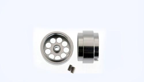 Felgen Ø14,3x8,5mm Light Aluminium gelocht m.Außenhump f.Ø2,38mm