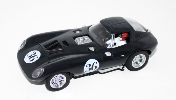 Fahrzeugbausatz Sebring Series Race Set Cheetah No. 36 m.Fertigkarosserie u.Zubehör