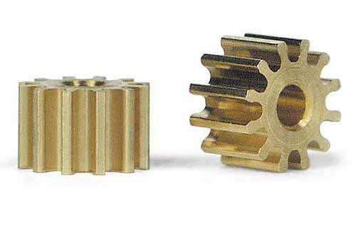 Motorritzel 12Z Ø6,5mm Messing f.Ø2mm