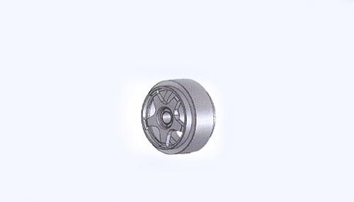 Felgen Ø14x8,5mm Sebring Aluminium gelocht m.Außenhump f.Ø2,38mm