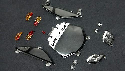 Karosseriezubehör Slot.it F1 GTR Scheiben u.Transparentteile Kunststoff f.Slotcars 1:32