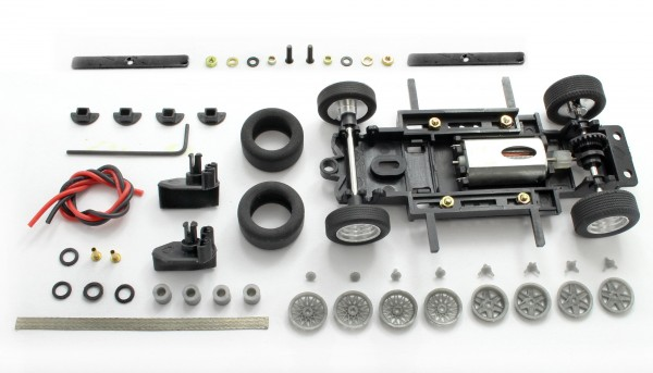 Fahrwerksbausatz Sebring Series Universal S2 Race Tuned f.Radstand 69-102mm m.Motor u.Zubehör