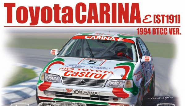 Standmodellbausatz 1:24 Toyota Carina ST 191 BTCC 1994 No. 5