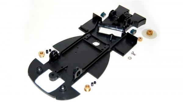 Fahrwerk-Upgrade Kit f.Slotcar 1:24 BRM 88C Inliner z.Umrüstung auf Anglewinder-Fahrwerk