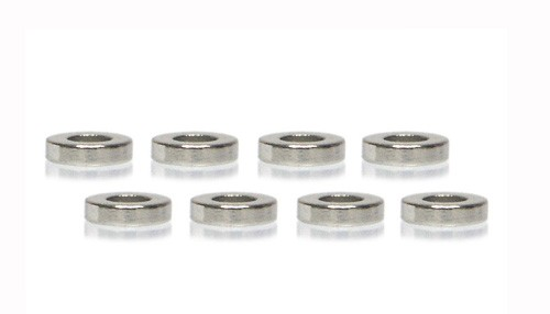 Zubehör Slot.it Magnete Fahrwerksdämpfung Ø4x1mm Neodymium f.Slotcars 1:32