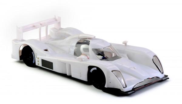 Slotcar 1:32 Bausatz analog Slot.it DBR1-2 White Kit Anglewinder-Chassis
