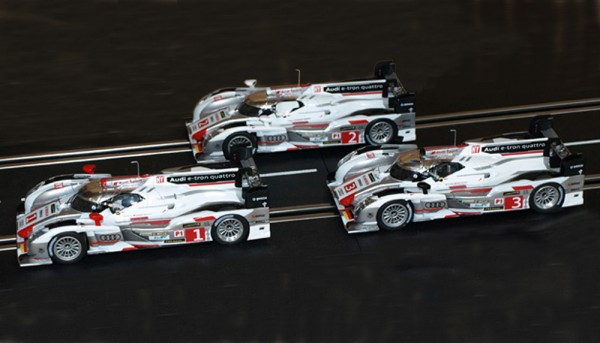 Slotcar 1:32 analog LE MANS MINIATURES R18 TDI Le Mans 2013 No. 3 High Detail Resin Collectors Edition